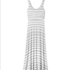 Athleta Stripe Maxi Dress